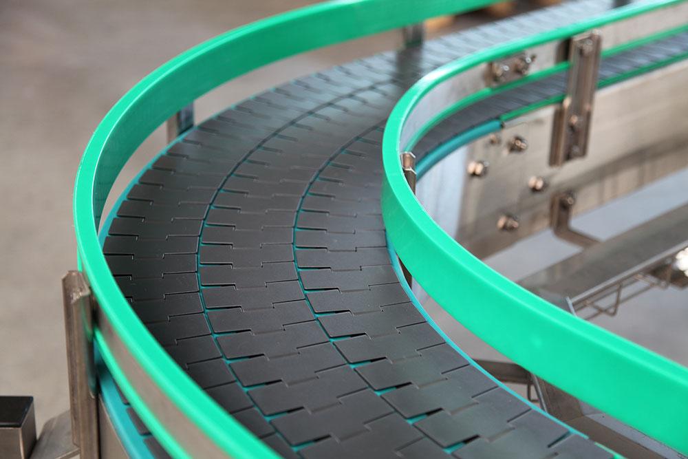 conductive conveyor chain